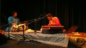 Kamaljeet Ajimal  and Kousic Sen performing at P.S I Love you