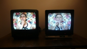 video work by Maria Cobo, P.S. I Love You