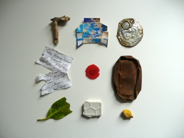 Objects found on walk: Sunday 12th April