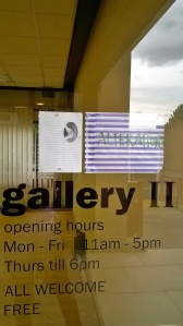 gallery 11 sign